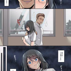 【脅迫エロ漫画】清純な女子校生が不良先輩に脅され部室のカメラの前で撮影されながら処女膜を破られる!
