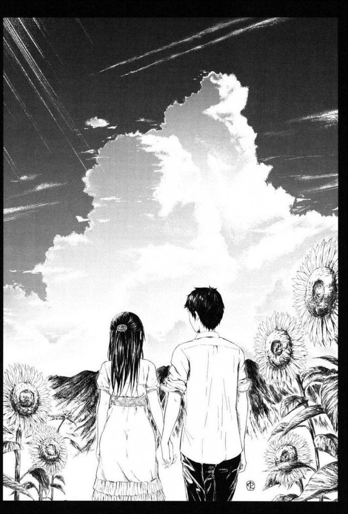 【エロ漫画】実家に帰って来た幼馴染と再会し密着した拍子にキスしてしまう清楚な美乳娘!暑さのせいにしてイチャラブHを行い長年の恋を実らせる!